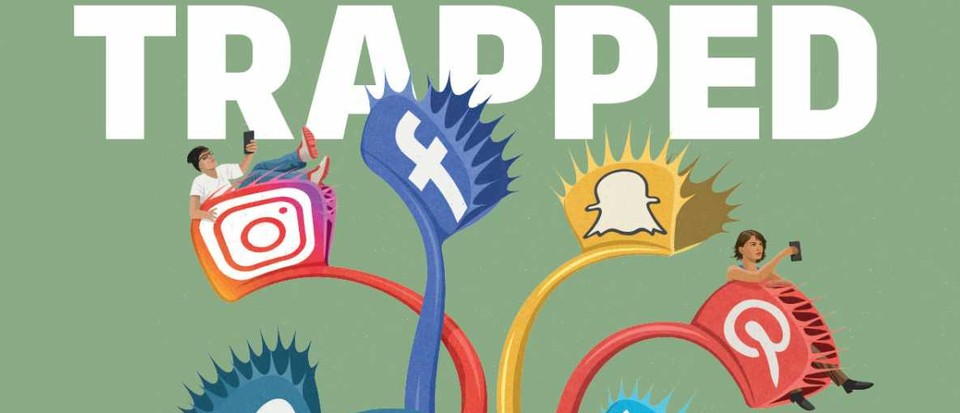 We are trapped by Social Media